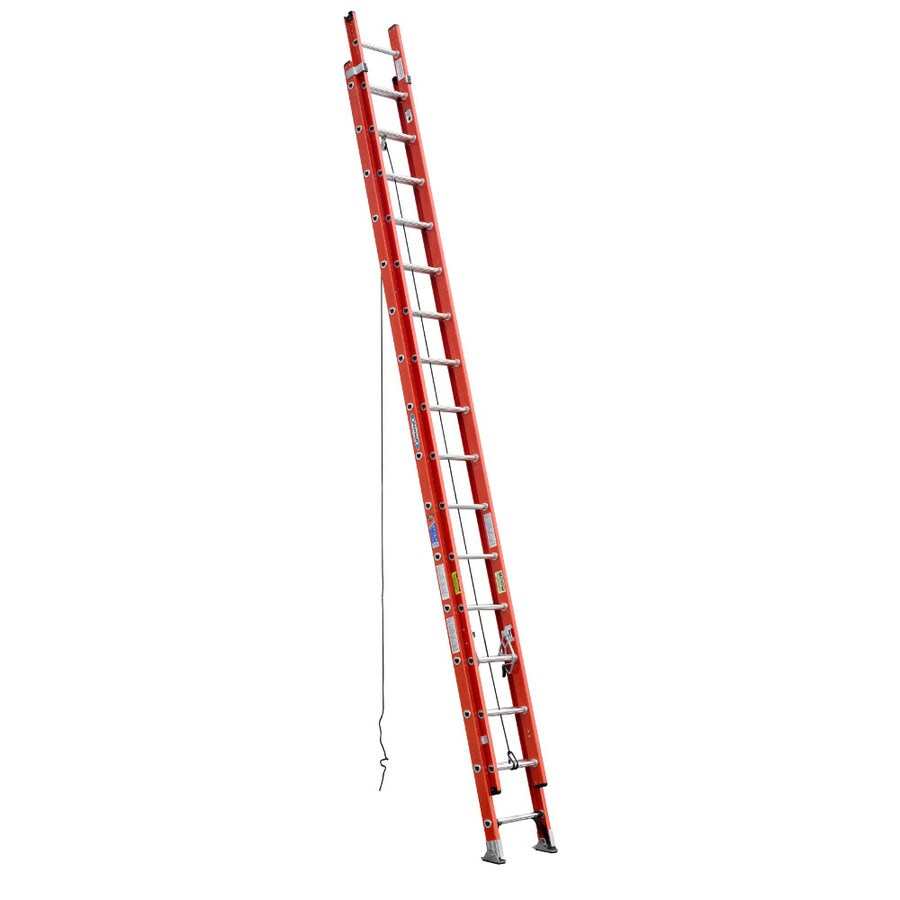 Werner 32-ft Fiberglass 300-lb Type IA Extension Ladder