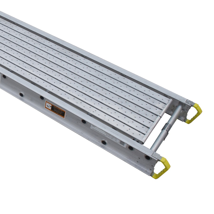 Werner 32-ft x 6-in x 24-in Aluminum Scaffold Stage