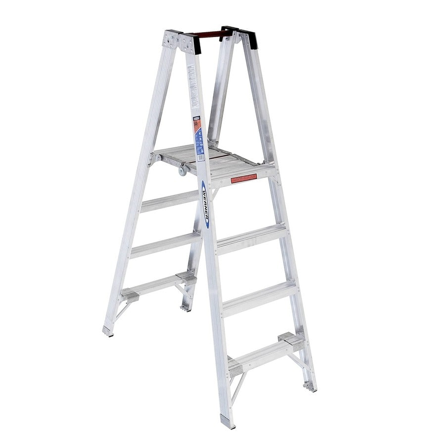 Werner 4-ft Aluminum 300-lb Type IA Stocker's Ladder