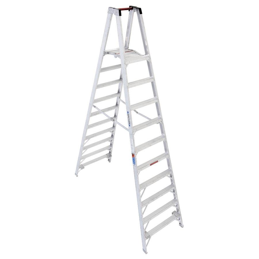 Werner 10-ft Aluminum 300-lb Type IA Stocker's Ladder