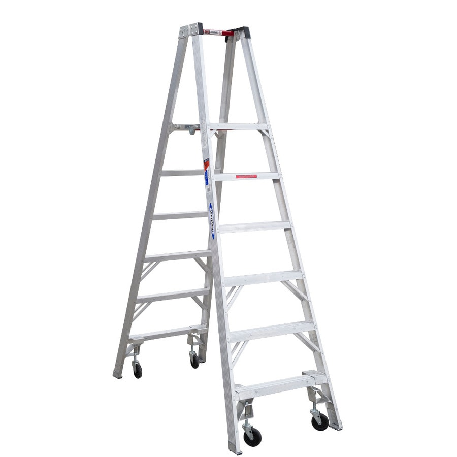 Werner 6-ft Aluminum 300-lb Type IA Stocker's Ladder