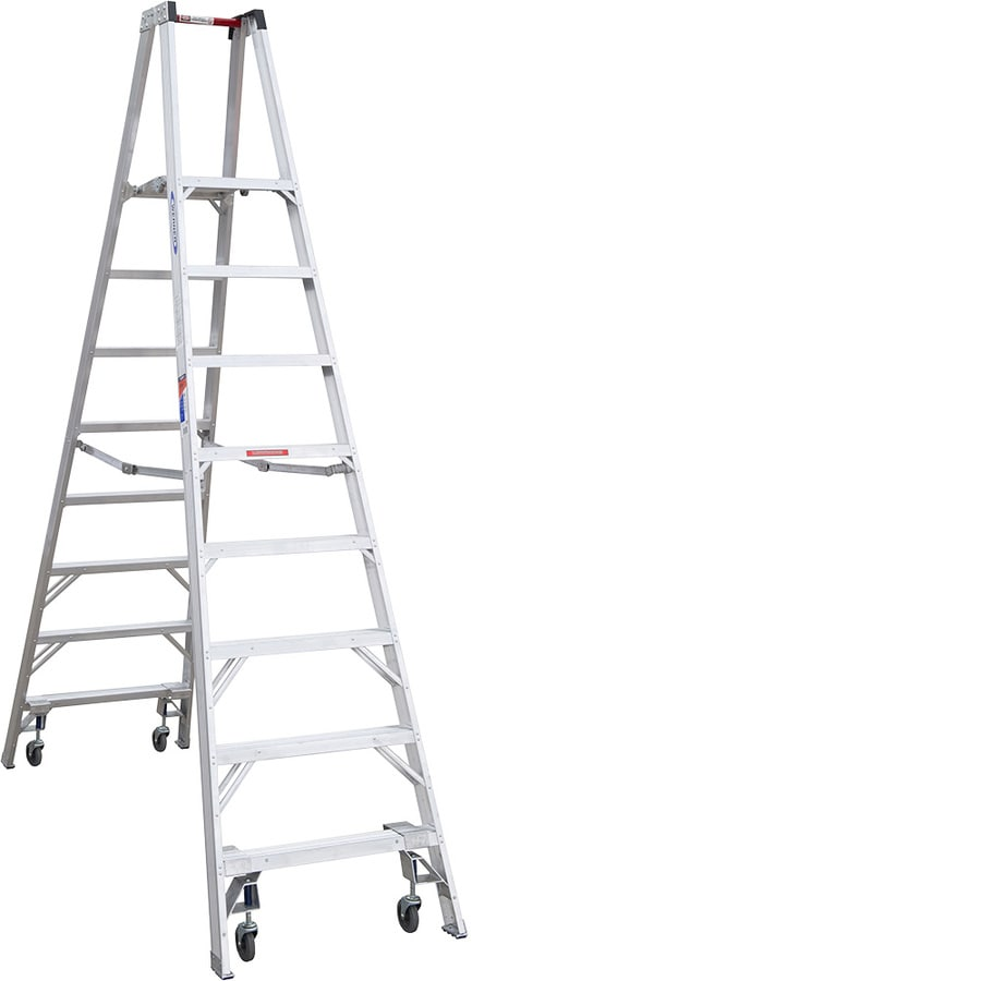 Werner 8-ft Aluminum 300-lb Type IA Stocker's Ladder