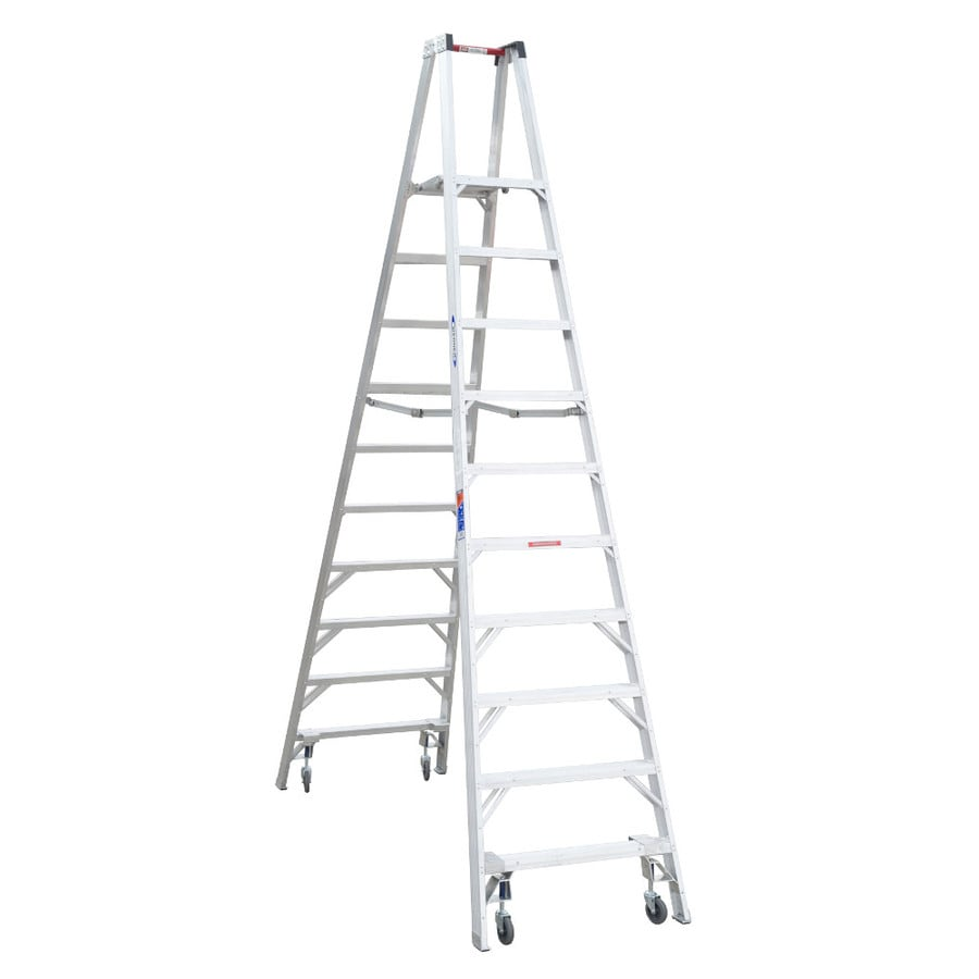 Werner 10-ft Aluminum 300-lb Type IA Stocker's Ladder