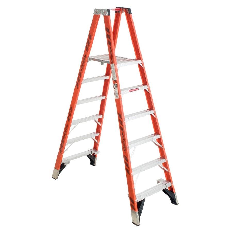 Werner 6-ft Fiberglass Type 1A - 300 lbs. Stocker's Step Ladder