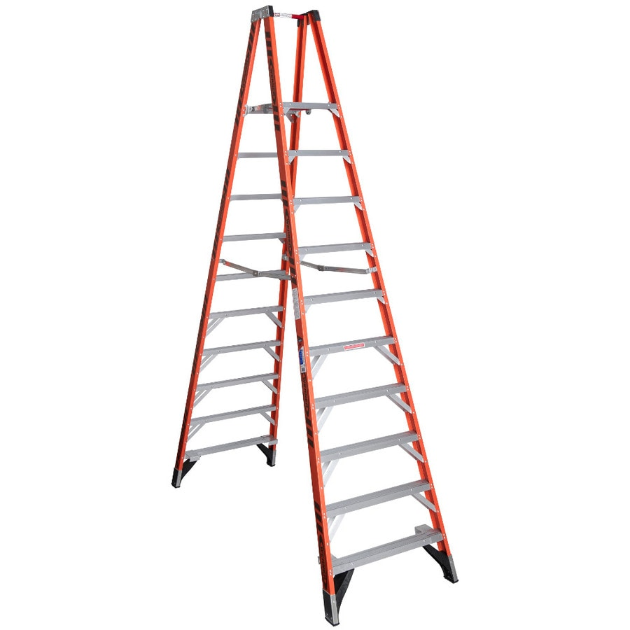 Werner 10-ft Fiberglass 300-lb Type IA Stocker's Ladder