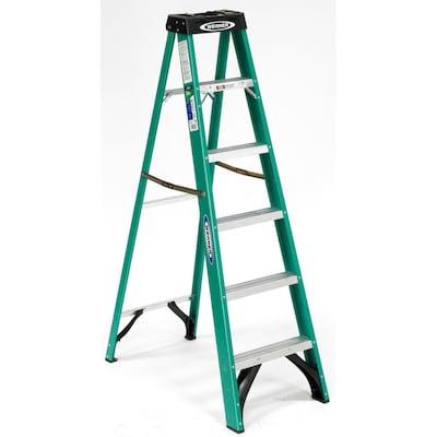 Pleasing Fs200 6 Ft Fiberglass Type 2 225 Lbs Capacity Step Ladder Uwap Interior Chair Design Uwaporg