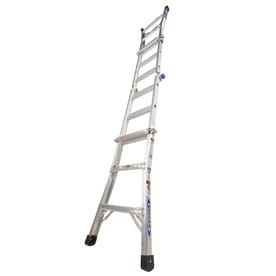 Shop Werner 6 Ft Fiberglass 225 Lb Type Ii Step Ladder At