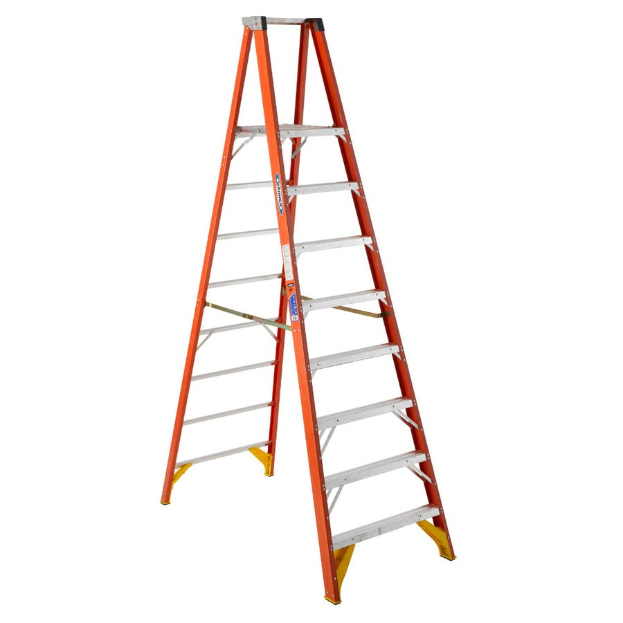 Werner 8-ft Fiberglass Type 1A - 300 lbs. Platform Step Ladder