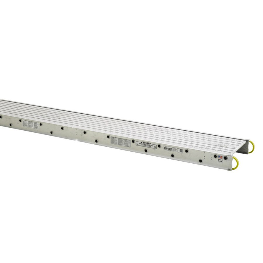 Werner 24-ft x 6-in x 24-in Aluminum Scaffold Stage