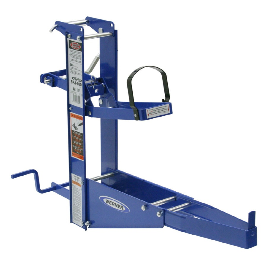 Shop Werner Pump Jack For Ladders Or Scaffolds At Lowes Com