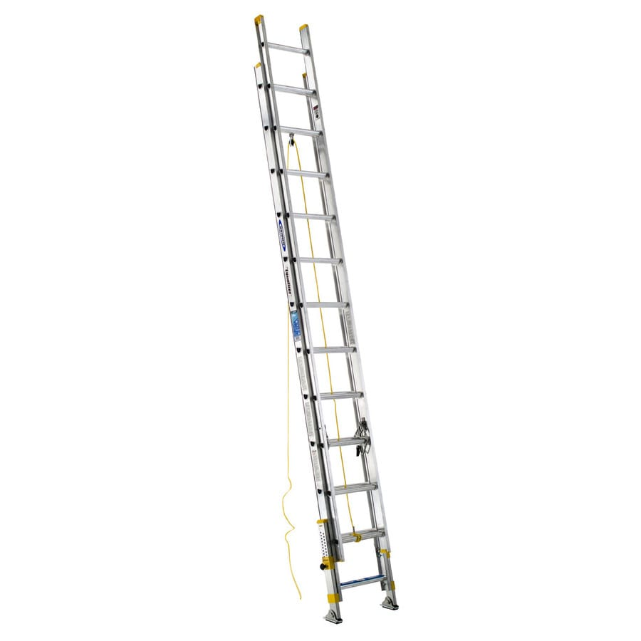Werner 24-ft Aluminum 250-lb Type I Extension Ladder