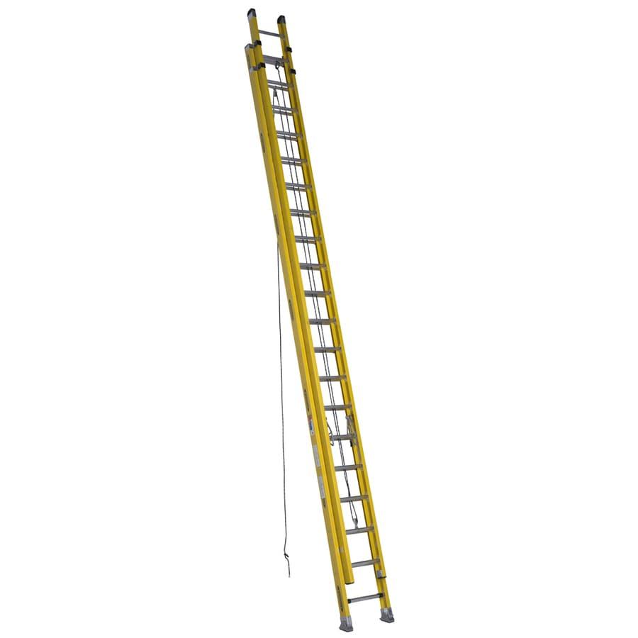 Werner 40-ft Fiberglass Type 1A - 300 lbs. Extension Ladder