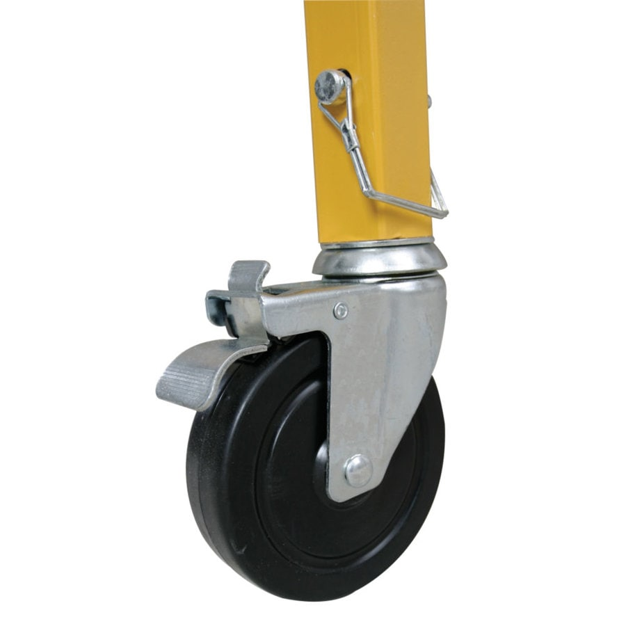 Werner Casters for Scaffolds