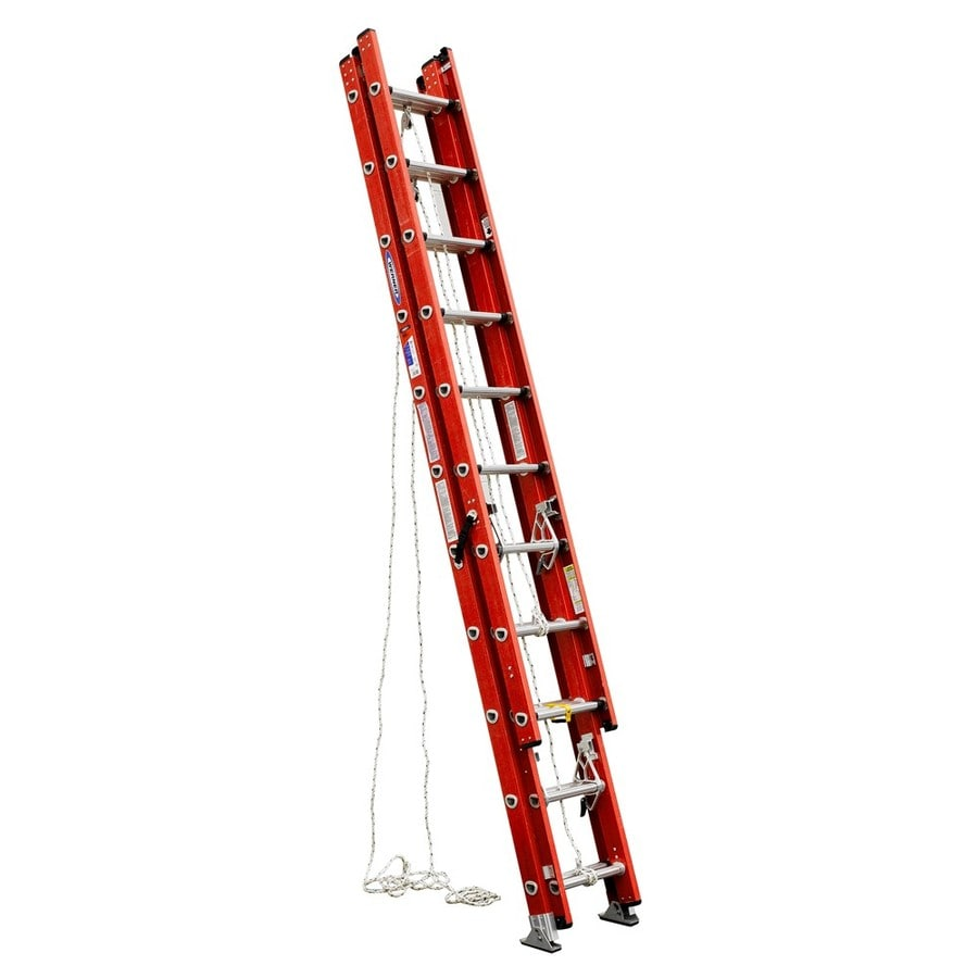 Werner D6200-3 25-ft Fiberglass Type 1A - 300 lbs. Extension Ladder