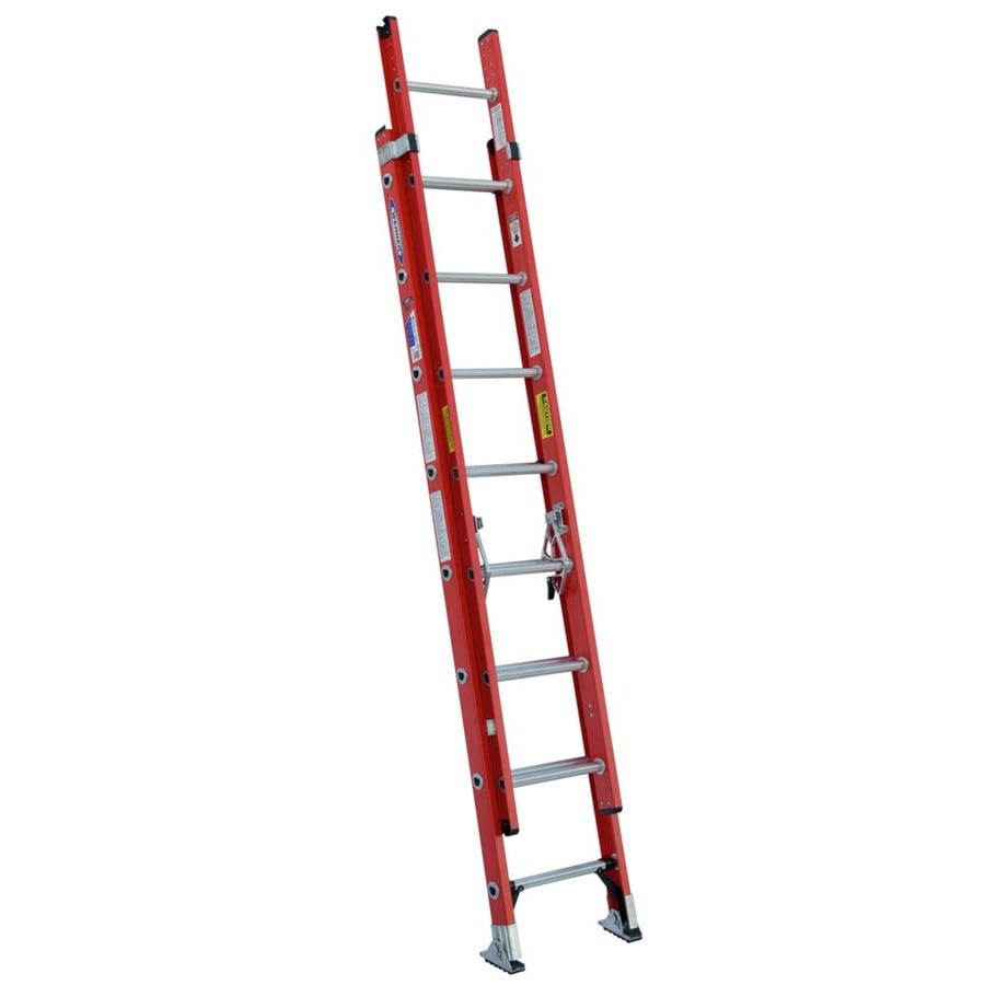 Werner D6400-2 13-ft Fiberglass Type 1A - 300 lbs. Extension Ladder