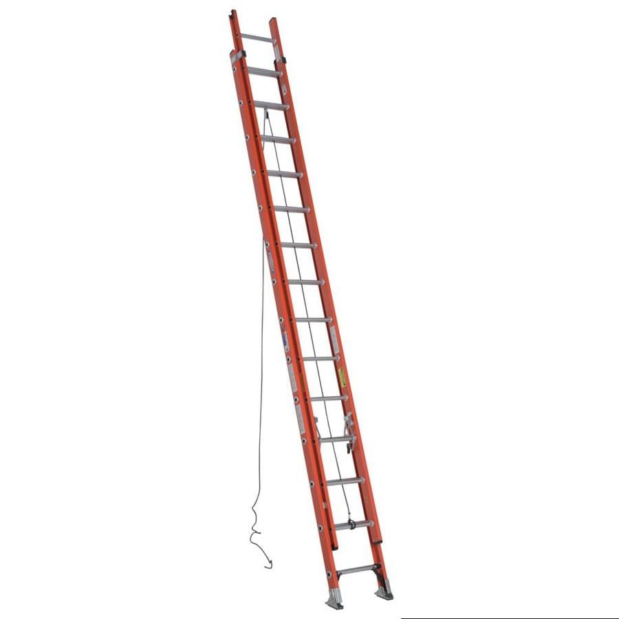 Werner 28-ft Fiberglass Type 1A - 300 lbs. Extension Ladder