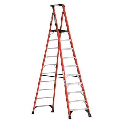 Terrific Pdia00 12 Ft Fiberglass Type 1A 300 Lbs Capacity Podium Step Ladder Beatyapartments Chair Design Images Beatyapartmentscom