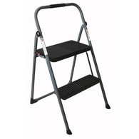Deals on Werner 2-Step 225-lb Grey Steel Step Stool S222GY6
