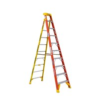 Werner 10-ft Fiberglass Type 1A 300 lbs. Capacity Step Ladder Deals