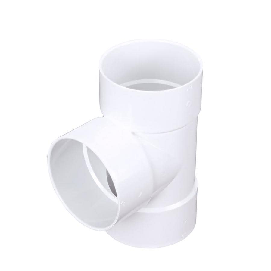 6-in Dia PVC Sanitary Tee Fitting