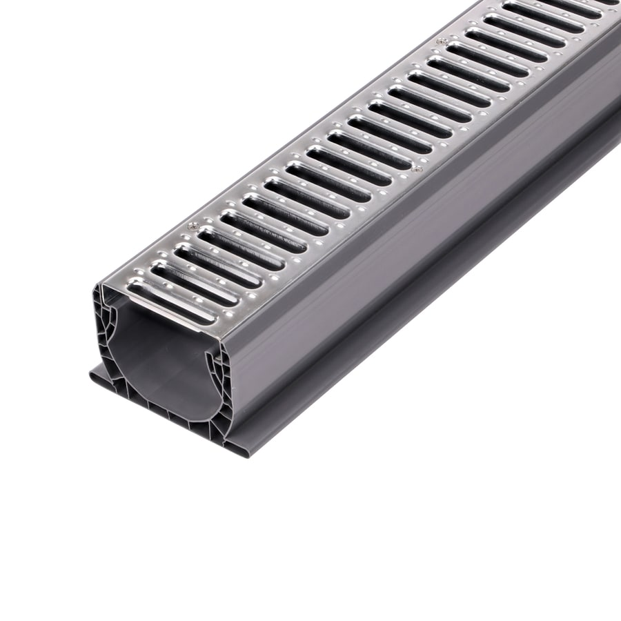 NDS 120 L x 5.75 W x 5.75 dia Rectangle Channel Drain
