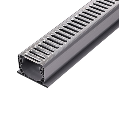 Nds 120 In L X 5 75 In W X Dia Channel Drain Kit At Lowes Com