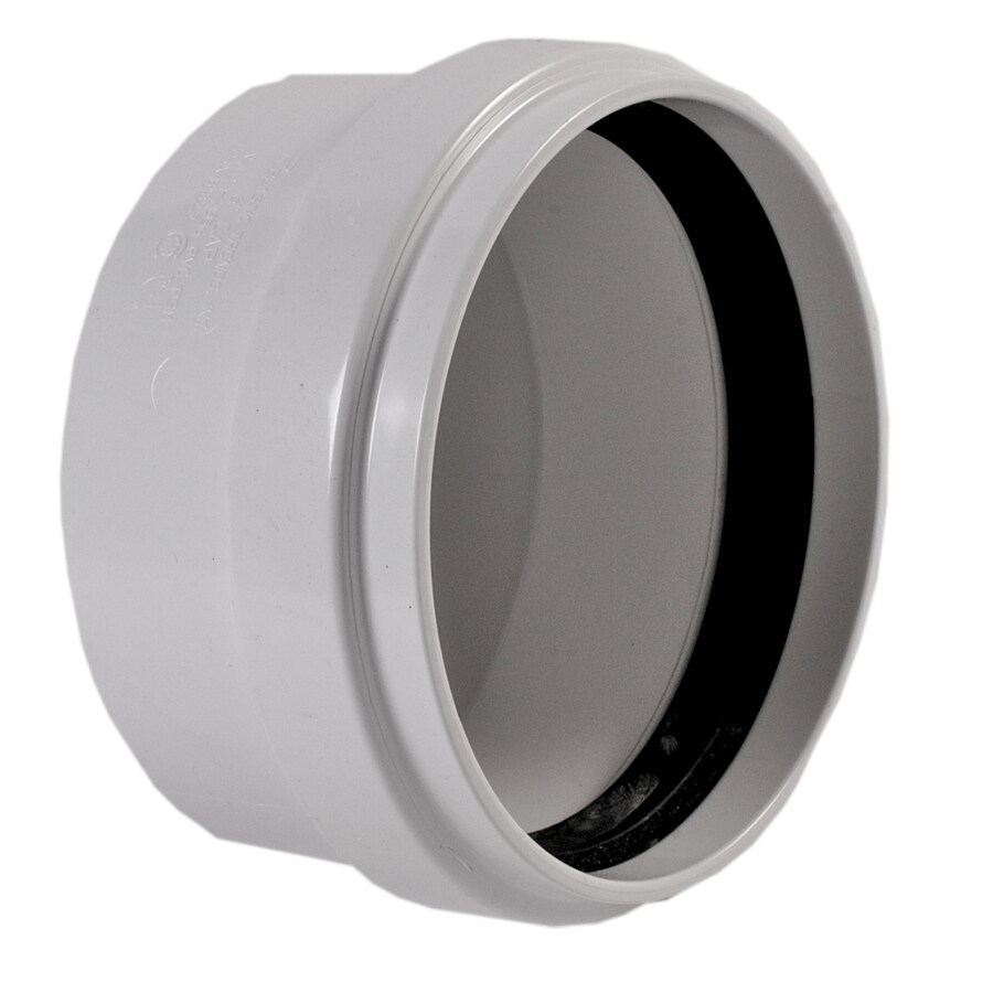 NDS 6-in Dia PVC Cap Fitting