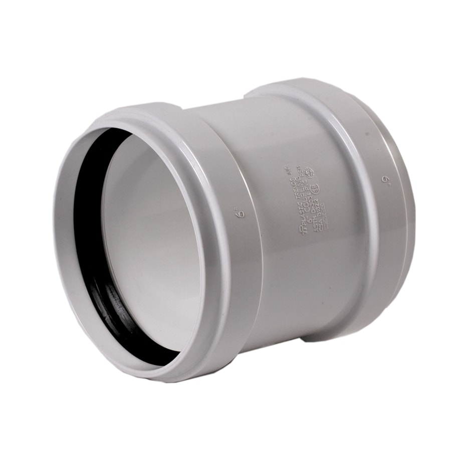 NDS 6-in Dia PVC Sewer Drain Coupling