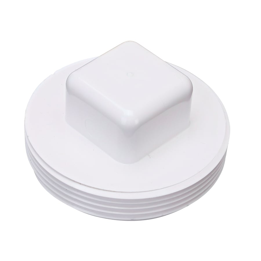 3-in dia PVC Pipe Plug Fitting