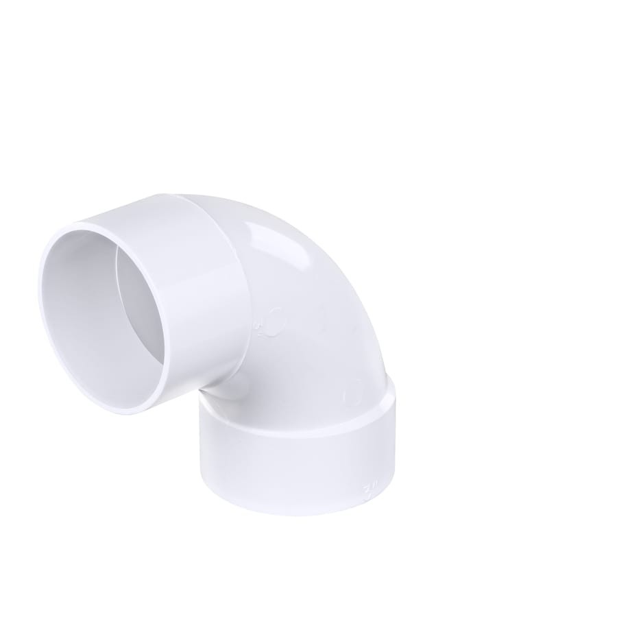 Shop 3 In Dia 90 Degree Pvc Street Elbow Fitting At Lowes Com