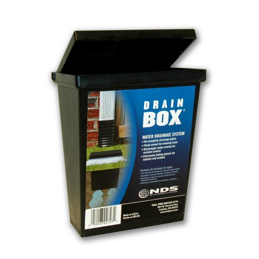 NDS 5.06-in L x 6.25-in W Rectangle Drain Box