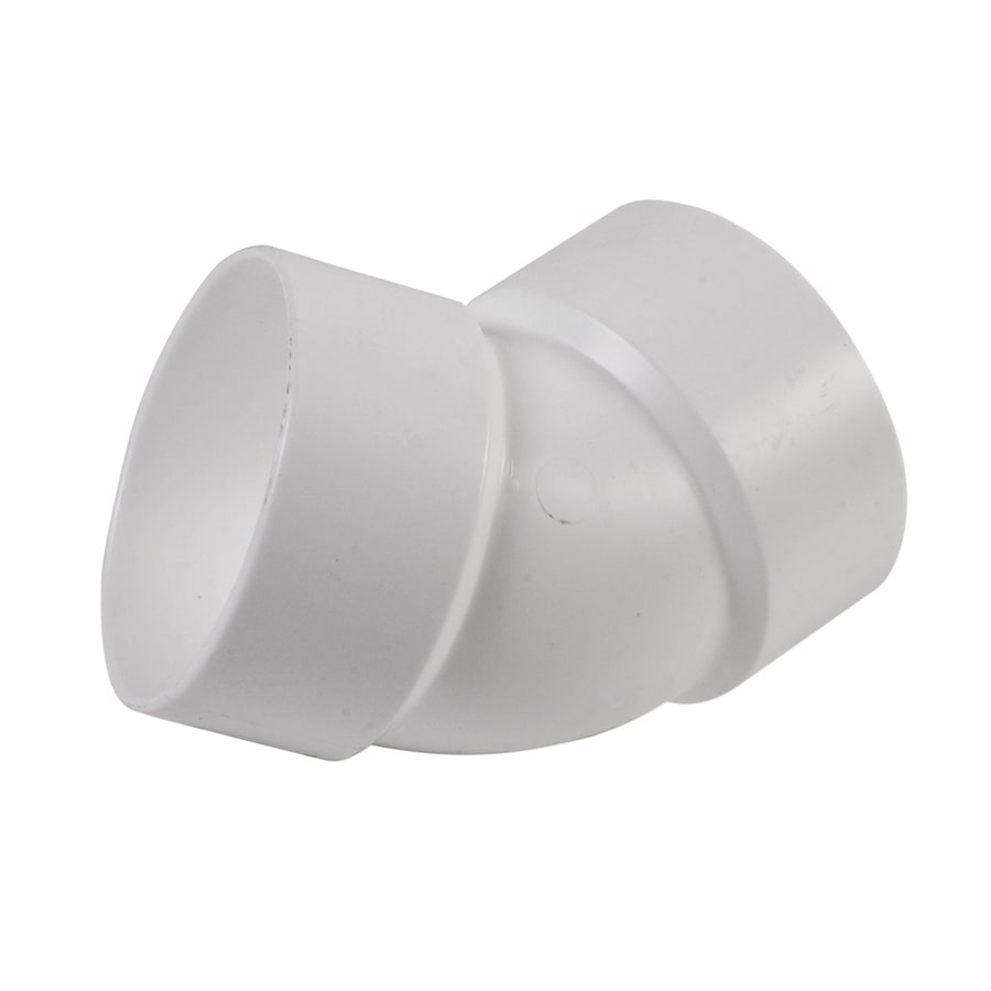 NDS 3-in Dia 45-Degree PVC Sewer Drain Elbow