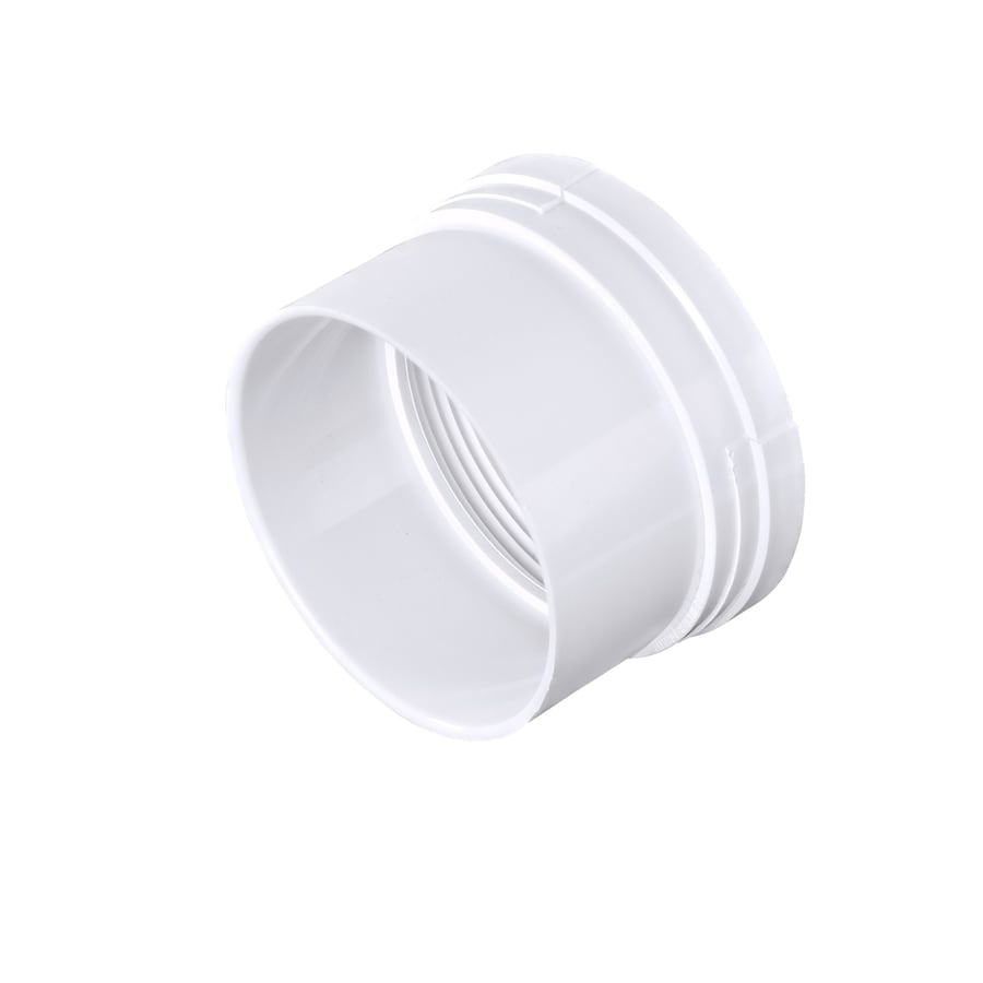 3-in dia PVC Adapter Fitting