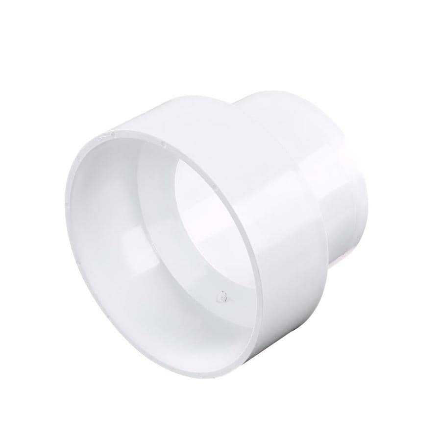 3-in x 4-in Dia PVC Coupling Fitting
