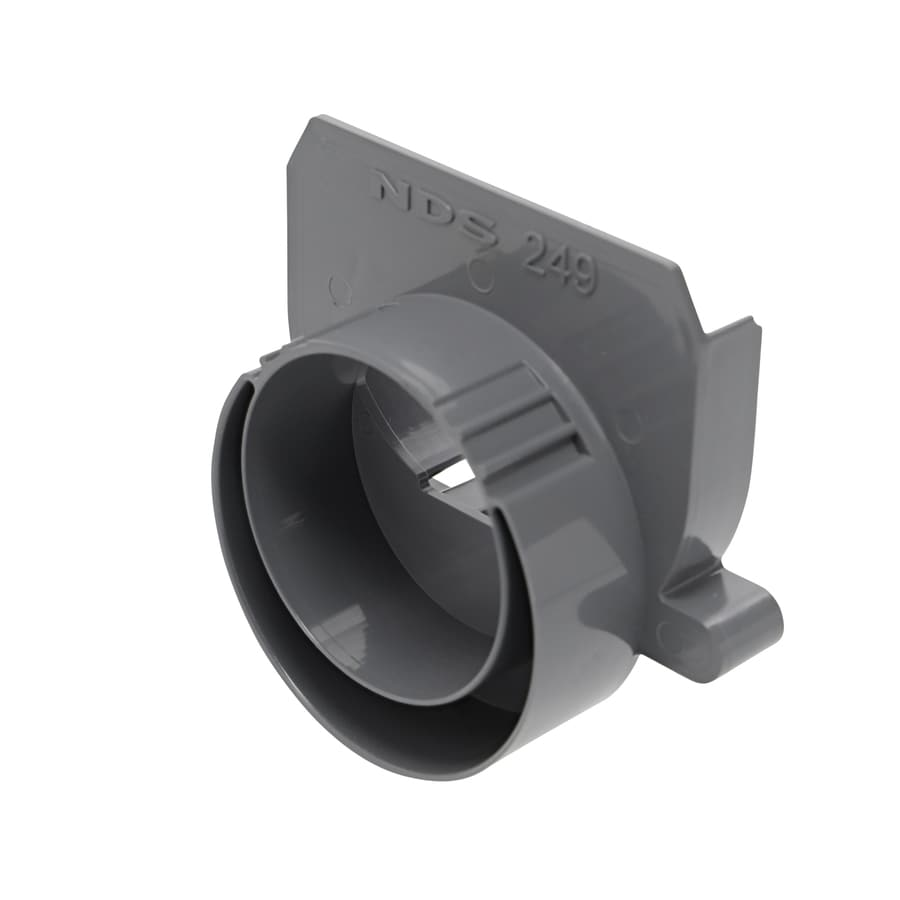 NDS 3-in or 4-in Dia Channel End Outlet