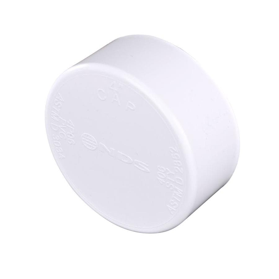 4-in dia PVC Cap Fitting
