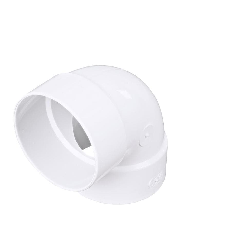 4-in Dia 90-Degree PVC Sewer Drain Elbow  sc 1 st  Loweu0027s & Shop Sewer Pipe u0026 Fittings at Lowes.com