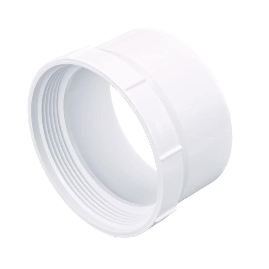 4-in Dia PVC Adapter Fitting