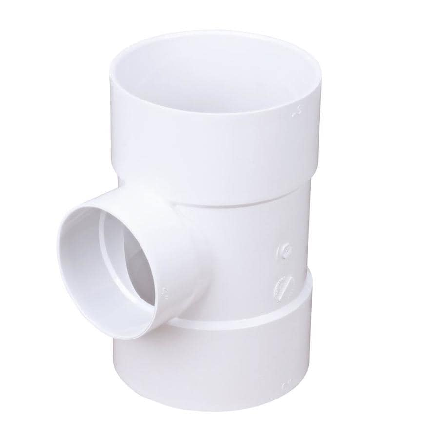 6-in x 4-in dia PVC Sanitary Tee Fitting