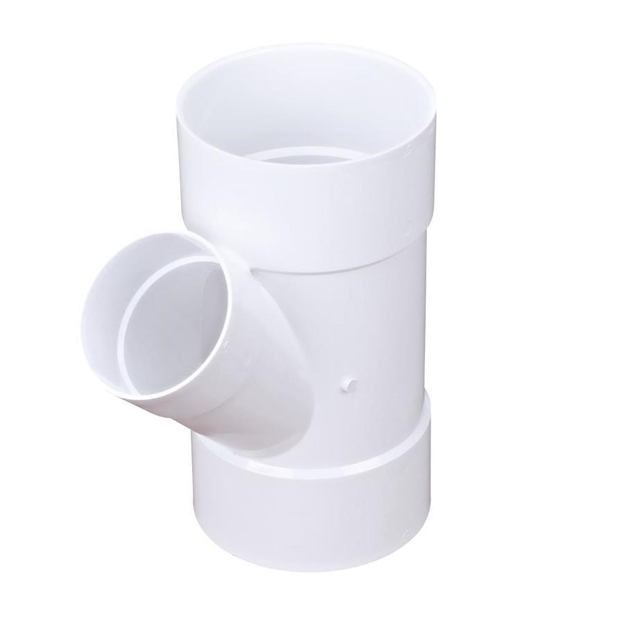 6-in dia 45-Degree PVC Wye Fitting