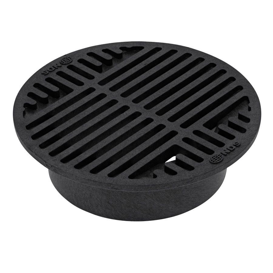 Shop Nds 7 75 In L X 7 75 In W X 8 In Dia Round Grate At