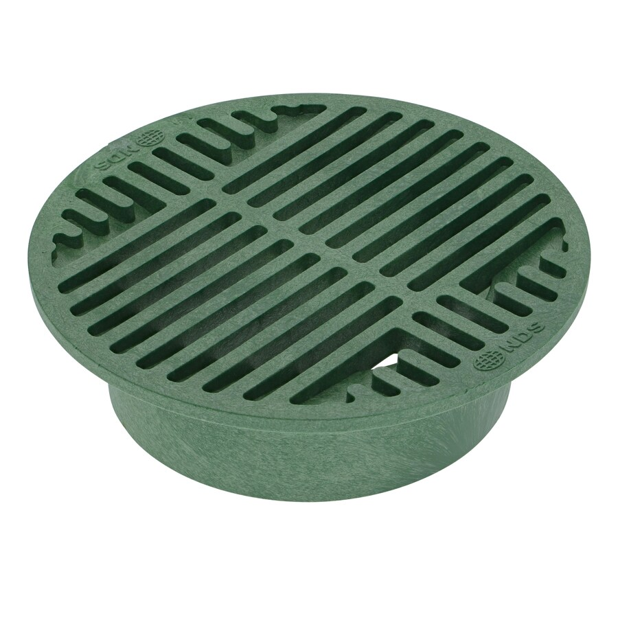 NDS 8-in Dia Round Round Grate