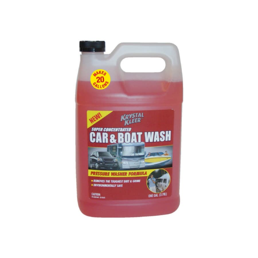 Krystal Kleer 1-Gallon Concentrate Car and Boat Pressure Washer Chemical