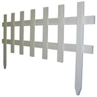 White Garden Fencing At Lowes Com