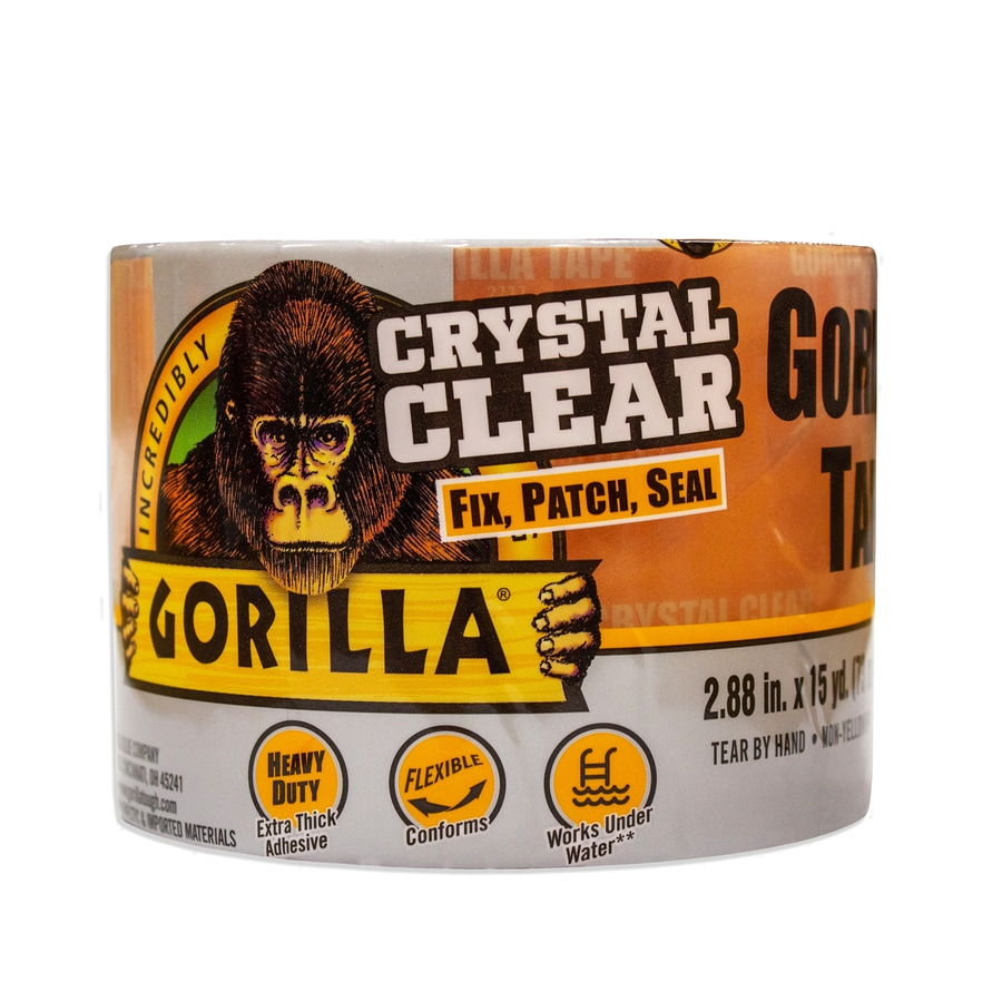 Crystal Clear Transparent Waterproof Gorilla Tape Fix Patch Seal Non-Yellowing