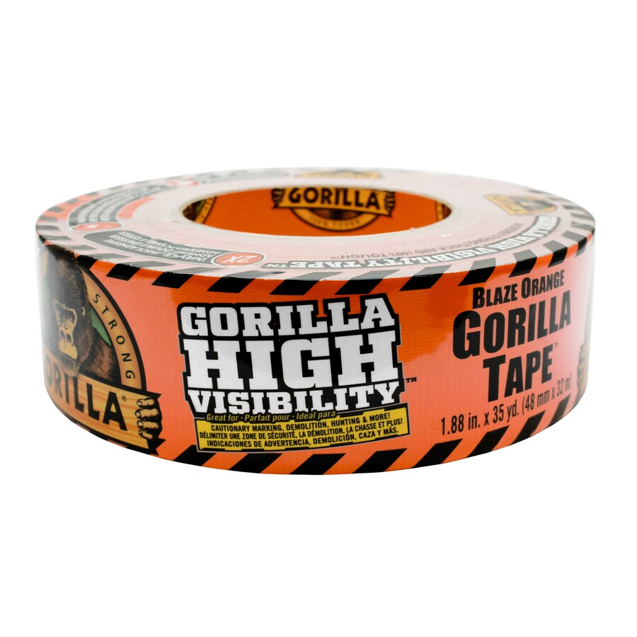 Gorilla High Visibility 1.88-in x 105 Orange Duct Tape