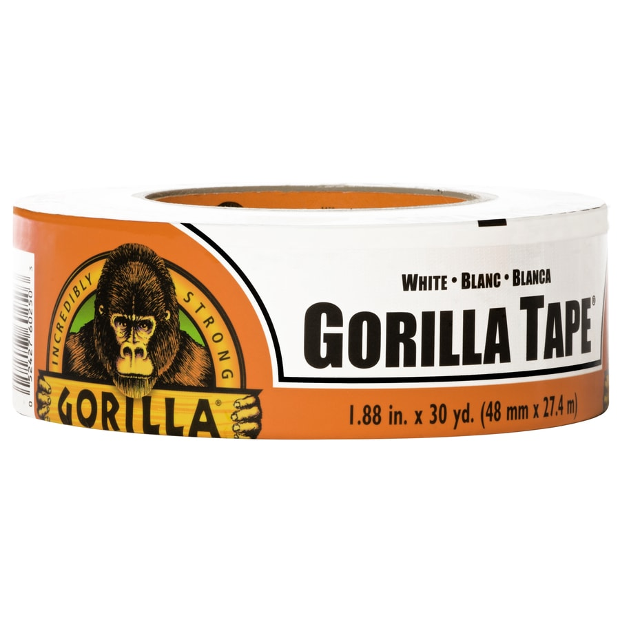 GORILLA TAPE 1.88-in x 90 White Duct Tape
