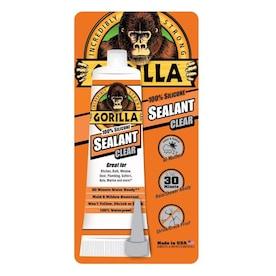 Gorilla 2.8-fl oz Silicone Clear Multipurpose Adhesive