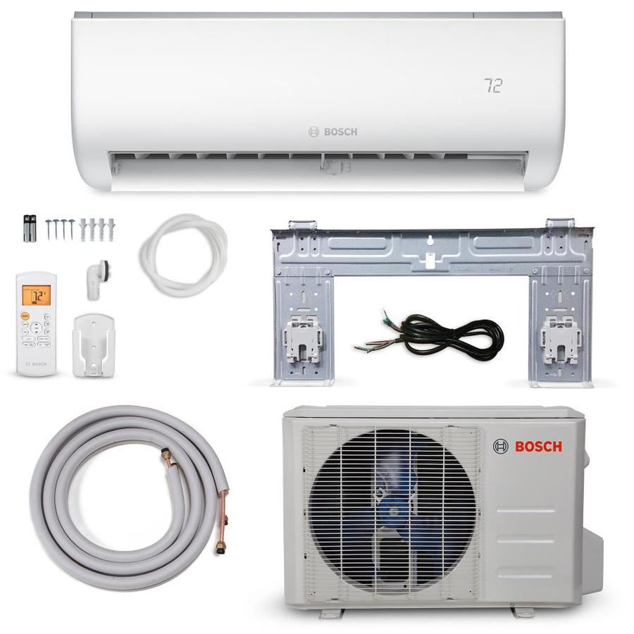 Bosch 12000 Btu 600 Sq Ft Single Ductless Mini Split Air Conditioner With Heater Energy Star In The Ductless Mini Splits Department At Lowes Com