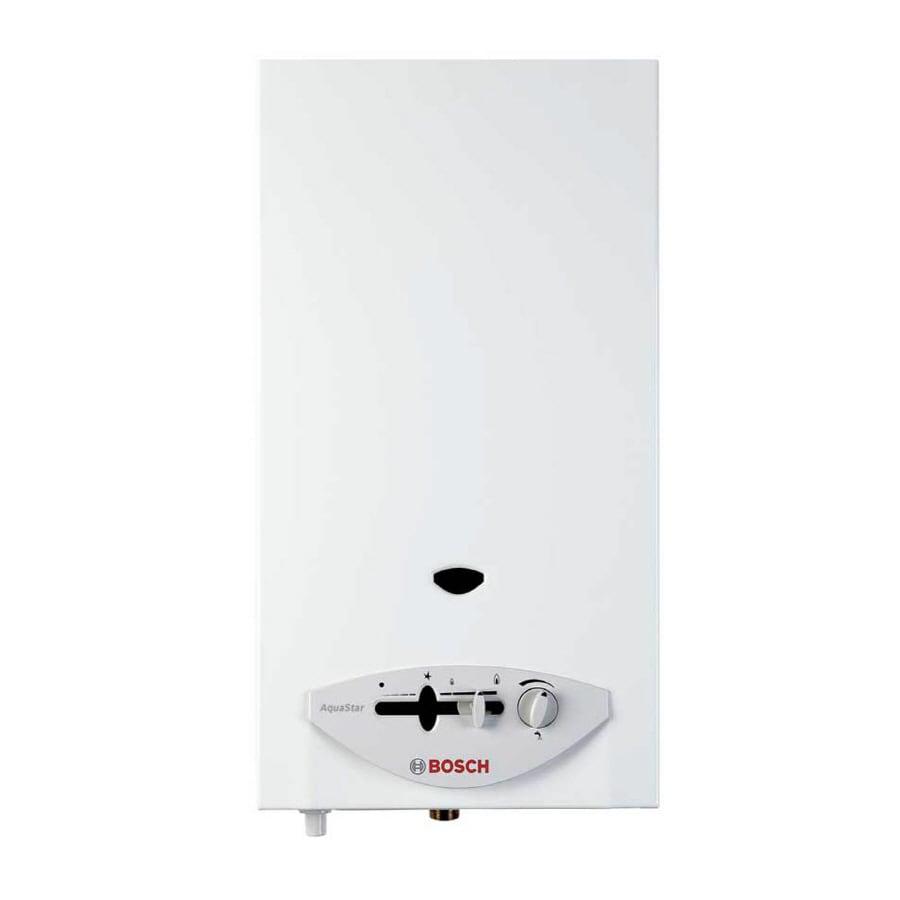 Lowes tankless water heater gas - Bosch Aquastar 2 6 Gpm Liquid Propane Gas Tankless Water Heater